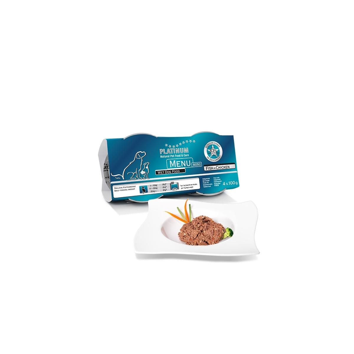 MENU Mini Fish+Chicken